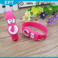 Christmas Army Snowman Wristband Shape Wearable USB Flash Drive 16GB