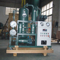 PLC Type Vacuum oil purifiers/ ZYD double stage transformer oil purifier vacuum oil treatment machine