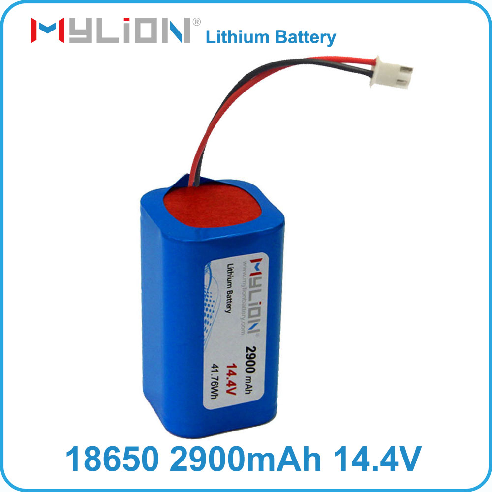 Mylion 18650 14.4V 2900mah rechargeable lithium battery