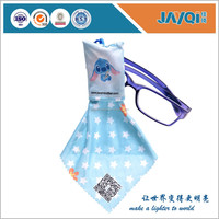 Custom Microfiber Eyewear Cleaning Cloth With
