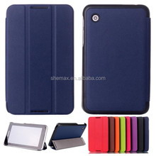 Ultra Slim Tri-Fold Leather Case Flip Cover For Lenovo A7-30 A3300