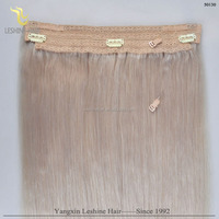 Wholesale price halo cambodian human hair extensions new mink brazilian hair