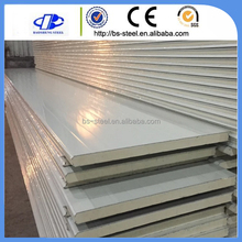 Cheapest Heat Insulated Cold Room Composite Wall Panel PU Sandwich Panel Aluminum Sandwich Panel