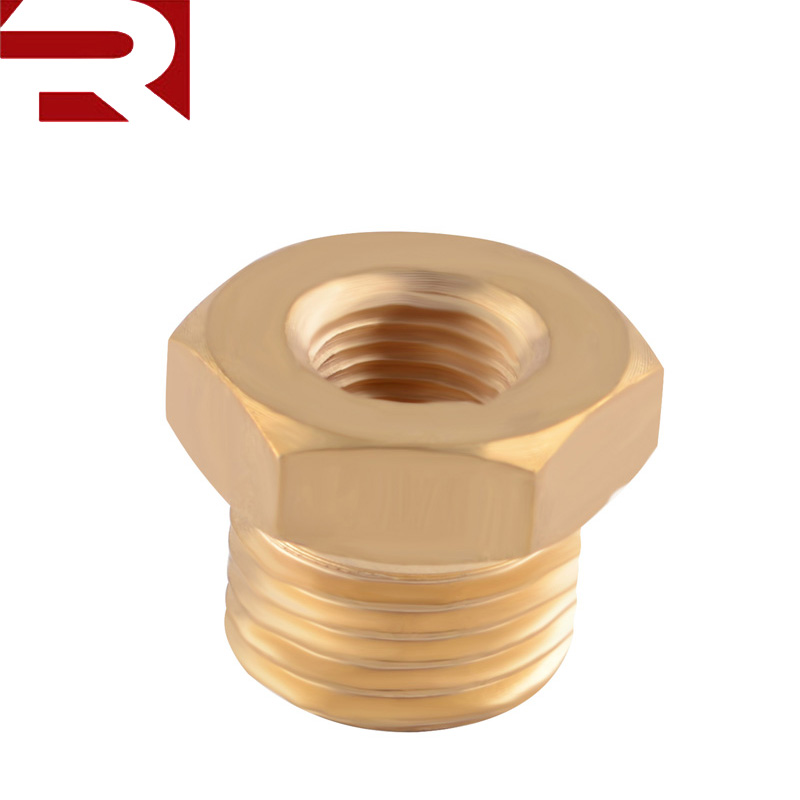 Brass 1/8 NPT Female to 5/8-18 UNF Male Oil Sensor <strong>Sump</strong> <strong>Plug</strong> Adaptor