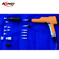 new product electrostatic nordson blue manual powder coating gun