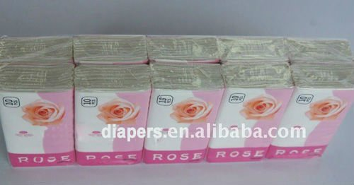 Nice OEM Mini Pocket Tissue Paper with Best Price, Super Quality