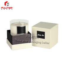 Alibaba wholesale white paper gift boxes for candles