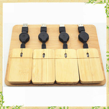 Cheap china wholesale right and left hand bamboo USB optical mouse
