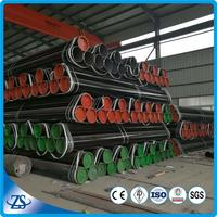 api 5l gr b s.korea black seamless carbon steel pipe from china manufacturer in low price
