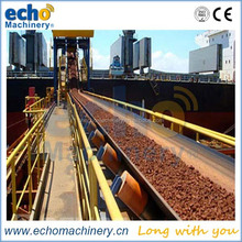 rubber conveyor belt used for wharf,steel plant,mining,grain,sand, gravel,recycling,stone crusher plant field