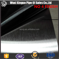Kitchen Material 304 Ba No.4 Finish Stainless Steel Sheet