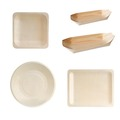 Tableware Food Container Decorative wood plates