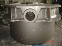 steel casting/ mining machinery casting / main frame / cone / upper frame/ wedge plate / pitman/ swing jaw/bowl/ bowl support