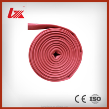 red color durable fire hose