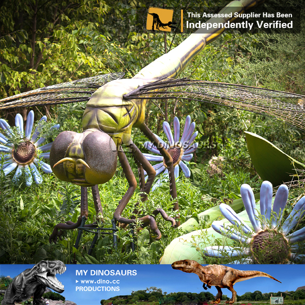 MY Dino-JL731 Outdoor playground realistic rubber insects