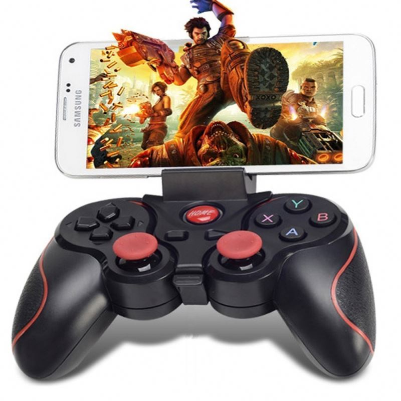 2018 New Arrival T3 Game Joystick I-Os/Android Smartphone Pc Bt 3.0 T3 Gamepad/Game <strong>Controller</strong> With Good Shape Joystick