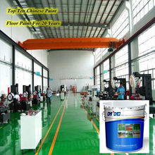 High hardness Epoxy self-leveling floor paint use for Garage warehouse factory
