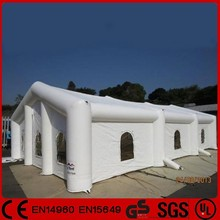 Fashionable sewed giant inflatable construction tent for wedding