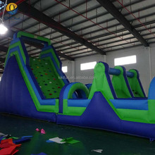 Commercial used giant inflatable sport games, inflatable obstacle, adults and kids inflatable water obstacle course for sale