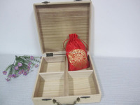 Free samples Exclusive Design wooden essential oil storage box wooden packing gift box wholesale