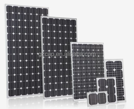 home solar system solar panel 100 watts 200 watts 300 watts 36volts