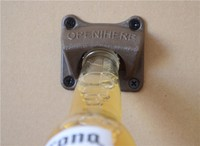 Cast iron retro wall mount bottle opener (LJ-120)
