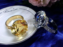 Beautiful Wedding Favors glass Napkin Ring