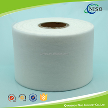 Hydrophilic hot air through nonwoven fabric for pet pad