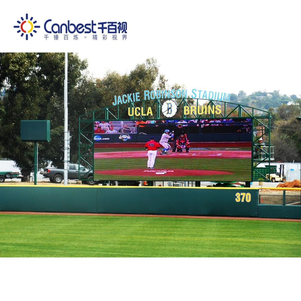 CANBEST HD full color 4.8mm outdoor rental large stadium led display screen