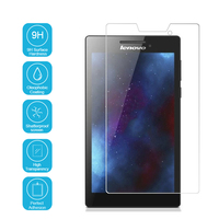 Ultra-thin 9H Hardness High Quality HD clear Premium Tempered Glass Screen Protector for Lenovo tab 2 / a7-10