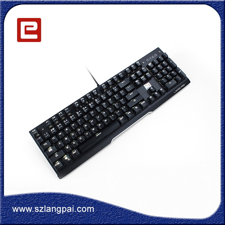 Computer Accessories Best Mechanical Multimedia Desktop Gaming Computer Keyboard