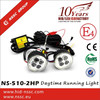 China supplier led fog light drl led daytime running light, led daytime running light with E4 R87