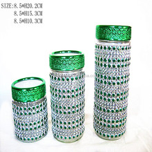 beads tea coffee sugar canisters