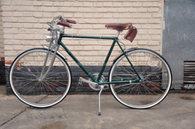 28inch dark green city bike for gentleman KB-CR-047