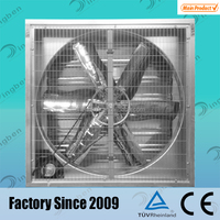 Industrial centrifugal galvanized sheet wall mounted propeller exhaust fan