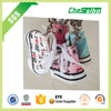 Hanging Shoe shaped car air freshener for car decoration