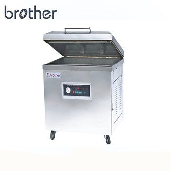 DZ8060 Brother single chamber dry fish food fruit and vegetable vacuum packing machine
