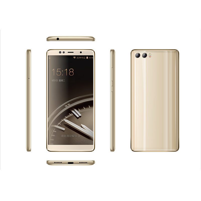 New launch 5.7inch 18:9 HD big screen long battery lasting Ultra slim 4G smart phone