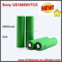 Brillipower wheelchair lithium ion battery lithium ion battery manufacturers US18650 VTC5 high drain 30a 18650 battery