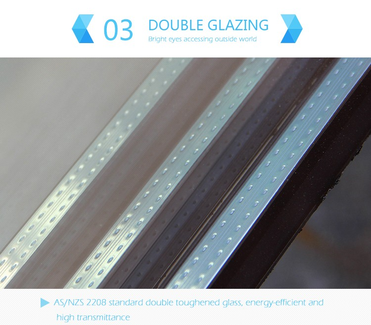 powder coating aluminium sliding window