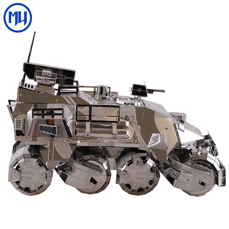 Mumodel 3D Metal Splicing Model Iron Pioneer Creative Puzzle Toy