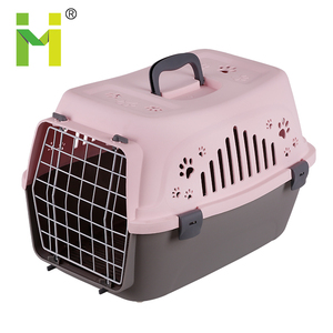 2018 New Design Transport Box Pet Air Box Travel Carrier Cages Portable Plastic Dog Carrier