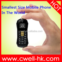 Newmind F1 8 colors 0.66 inch OLED screen mini cell phone worlds smallest mobile phone
