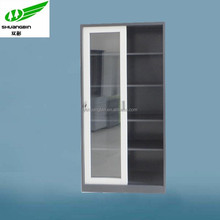 Full assembled simple stainless steel cupboard furniture design office steel godrej cupboard price