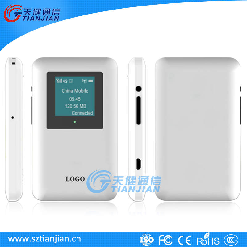 100Mbps Pocket Wi-Fi LTE Fiber Optic Wireless Router