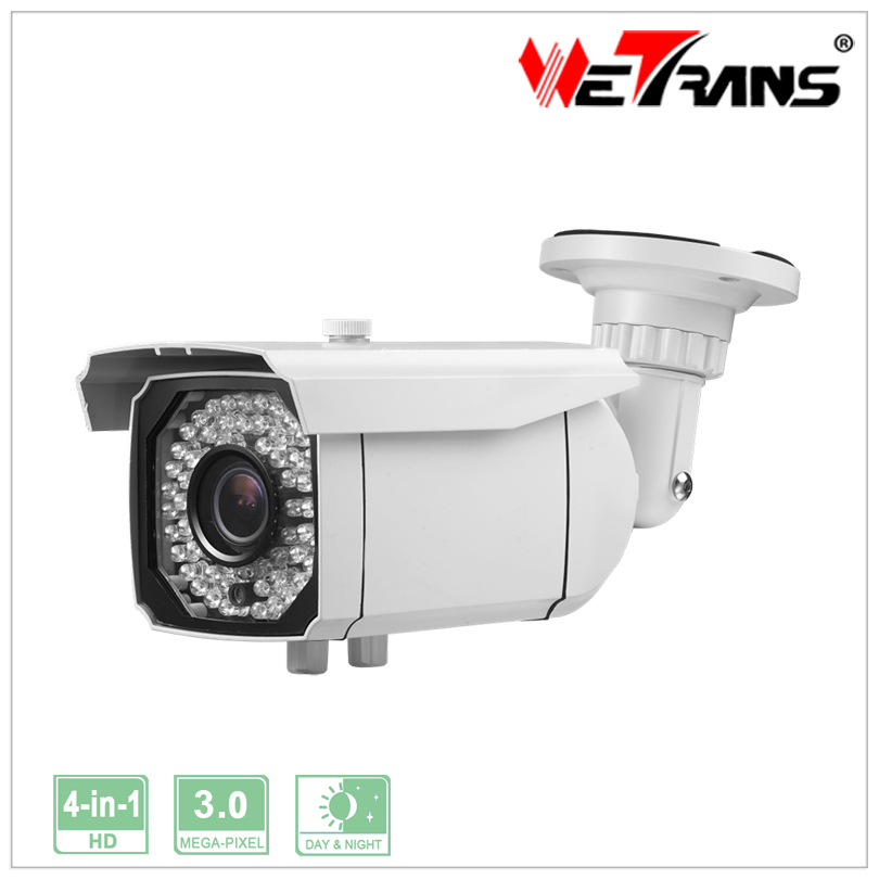 3.0MP Verifocal lens IR Night Vision Support AHD TVI CVI CVBS Video Input Waterproof IR Bullet TR-X30AR740 Cheap CCTV Camera