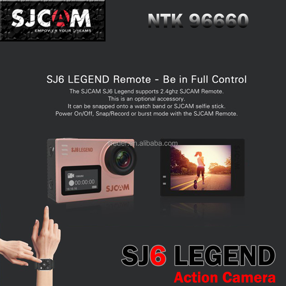 SJCAM SJ6 Legend action camera touch screen camera dual screen 4K action camera