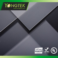 Linear pattern Polystyrene material LED light diffuser plate