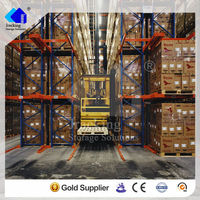 Quality assured Jracking forklift/manual hydraulic trolley accessible safety equipment narrow aisle pallet racking