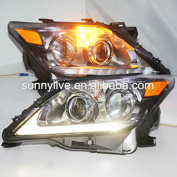 Lexus LX570 LED Head Lamps with Projector Lens 2012-2014 Year